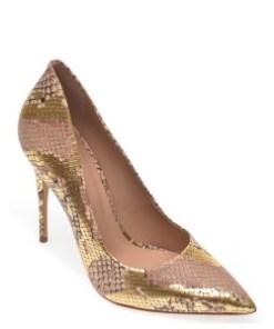 Pantofi ALDO aurii, Cassedy719, din piele ecologica