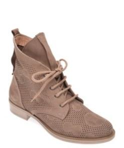Pantofi FLAVIA PASSINI taupe, 0511102, din nabuc