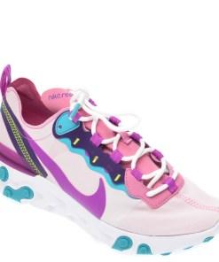 Pantofi sport NIKE multicolori, React Element 55, din material textil