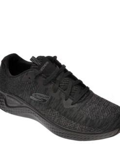 Pantofi sport SKECHERS negri, Solar Fuse Kryzik, din material textil