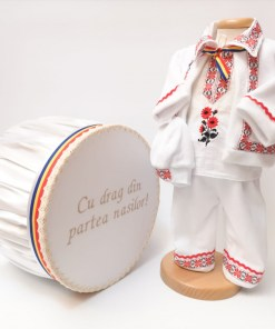 Set Traditional Botez Costumas baiat Cutie trusou