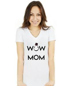 Tricou WoW MoM Cadou L Alb