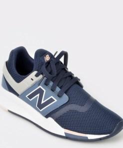 Pantofi sport NEW BALANCE bleumarin, Ws247, din material textil