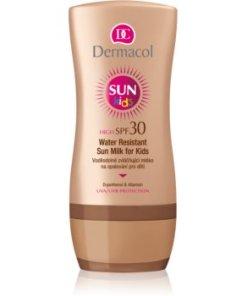 Dermacol Sun Water Resistant Lotiune pentru protectie solara , rezistenta la apa, pentru copii SPF 30