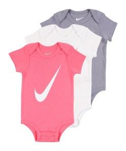 Nike Sportswear Salopeta/Body roz / gri / alb