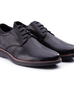 Pantofi barbati Gilberto cu talpa din spuma Negru
