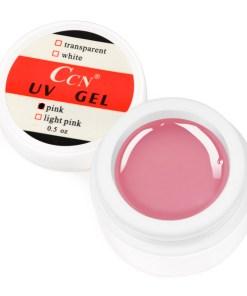 Gel UV CCN 15 gr Pink - Roz Transparent