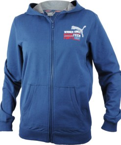 Hanorac copii Puma STYLE ATHL Hooded Sweat Jacket 83667712