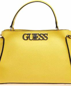 GUESS Crossbody bag with logo Yellow