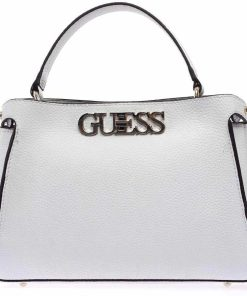 GUESS Crossbody bag with logo White