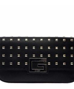 GUESS Crossbody bag with studs Black