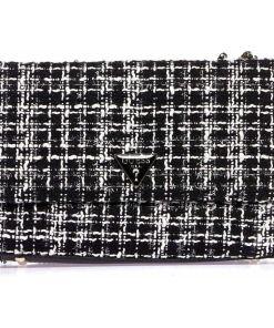 """GUESS Bouclé crossbody bag """"Cessily"""" Black"""