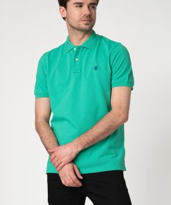 Tricou polo regular fit din bumbac organic 2578286