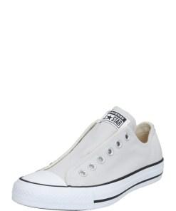 CONVERSE Sneaker low 'CHUCK TAYLOR ALL STAR SLIP' alb / gri deschis