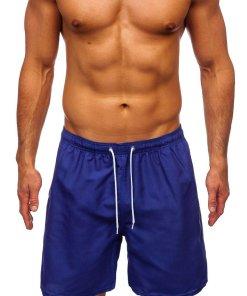 Pantaloni scurți de baie albastru Bolf ST003