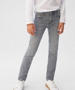 Mango Kids - Jeans copii Slim 110-164 cm UPYK-SJB003_90X