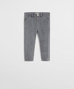 Mango Kids - Jeans copii Oliver 80-104 cm UPYK-SJB00B_90X