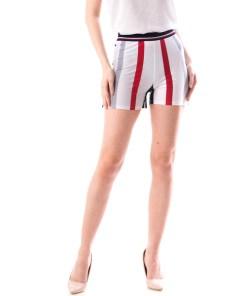Pantaloni Scurti Dama Bety566 Alb