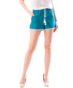 Pantaloni Scurti Dama Accsytr16 Turcoaz