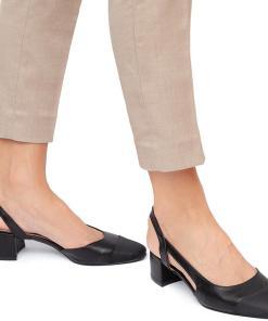 Pantofi dama Hortensia cu toc mic Negru