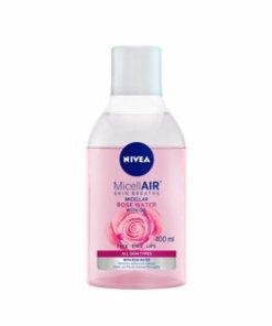 Apa micelara cu trandafiri pentru toate tipurile de ten Nivea Skin Breathe, 400 ml
