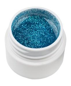 Gel UV Color cu Sclipici ENS PRO #002 - Blue Cloud