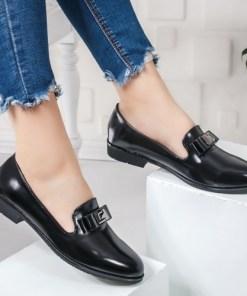 Pantofi casual dama negri Leolia
