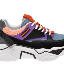 Pantofi sport FLAVIA PASSINI multicolori, 90002, din material textil si piele naturala
