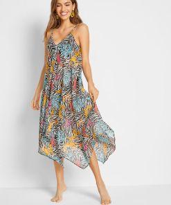 Rochie de plajă - negru