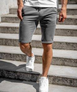 Pantaloni scurti grafit barbati Bolf KG3720