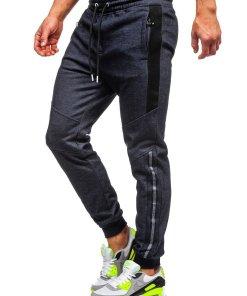 Pantaloni de trening bleumarin Bolf TC951