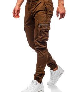 Pantaloni cargo maro barbati Bolf CT6702