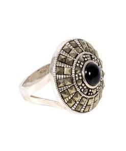 Inel argint cu onix negru, marime 51