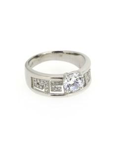 Inel din argint tip logodna, marime 53