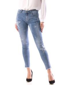 Jeans Dama OzzyTy680 Bleu