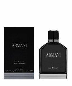 Apa de toaleta Giorgio Armani Eau de Nuit, 100 ml, pentru barbati