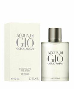 Apa de toaleta Giorgio Armani Acqua di Gio, 50 ml, pentru barbati