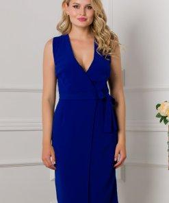 Rochie Moze albastra petrecuta