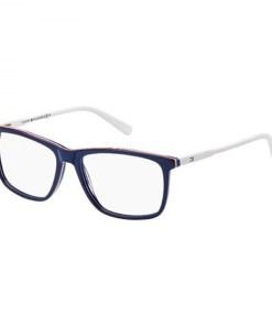 Rame ochelari de vedere barbati TOMMY HILFIGER (S) TH1317 VMC BLUE RED WHITE 54