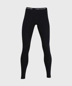 Pantalon pijama Tom Tailor, negru