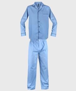 Pijama barbateasca Must, albastru