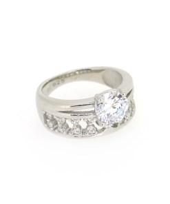 Inel din argint tip logodna marime 52