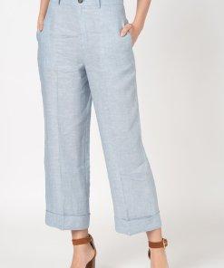 Pantaloni de in cu croiala ampla Ali 2567656