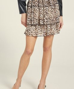 Fusta mini cu animal print 2530393