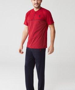 Pijama cu logo discret 2837861