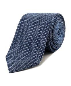 Cravată Tommy Hilfiger Tailored Albastru
