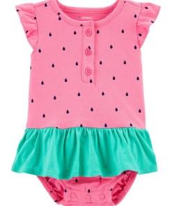 Bebe girl Carter's Body tip rochiță tutu cu Pepene