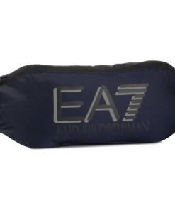 Borsetă EA7 Emporio Armani Bleumarin