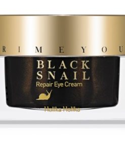 Holika Holika Prime Youth Black Snail cremă de noapte anti-îmbătrânire extract de melc HLKBLSW_KECR01