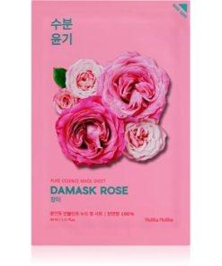 Holika Holika Pure Essence Damask Rose Masca hidratanta cu efect revitalizant sub forma de foaie HLKPUEW_KMSK45